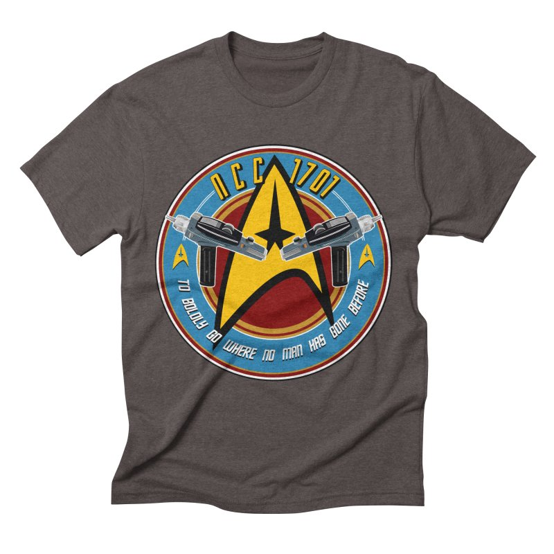 BOLDLY GO... Men's Triblend T-Shirt by karmadesigner's Tee Shirt Shop