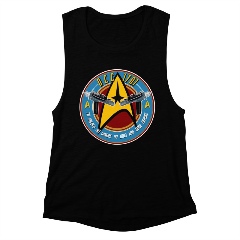BOLDLY GO... Women's Muscle Tank by karmadesigner's Tee Shirt Shop