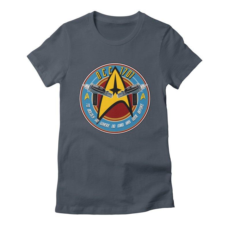BOLDLY GO... Women's T-Shirt by karmadesigner's Tee Shirt Shop