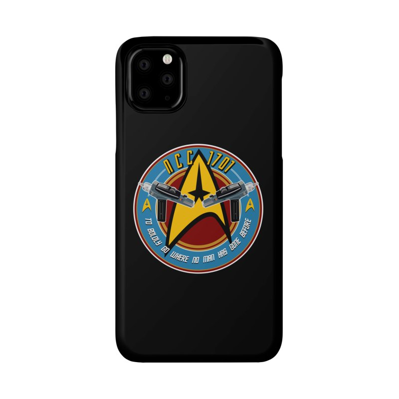 BOLDLY GO... Accessories Phone Case by karmadesigner's Tee Shirt Shop