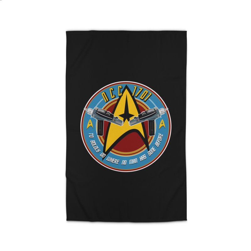 BOLDLY GO... Home Rug by karmadesigner's Tee Shirt Shop
