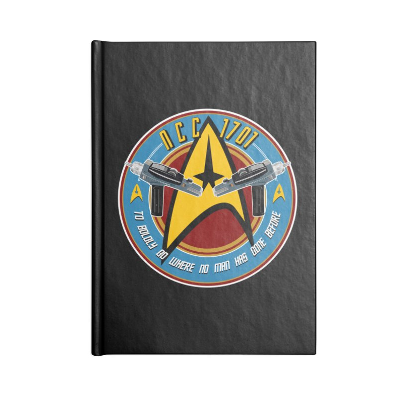 BOLDLY GO... Accessories Lined Journal Notebook by karmadesigner's Tee Shirt Shop
