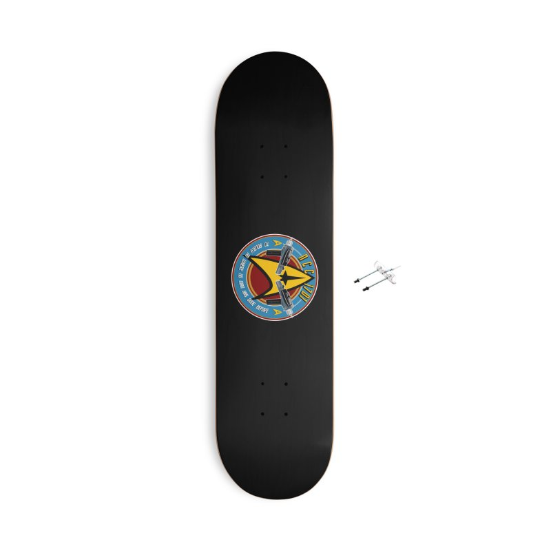BOLDLY GO... Accessories Skateboard by karmadesigner's Tee Shirt Shop
