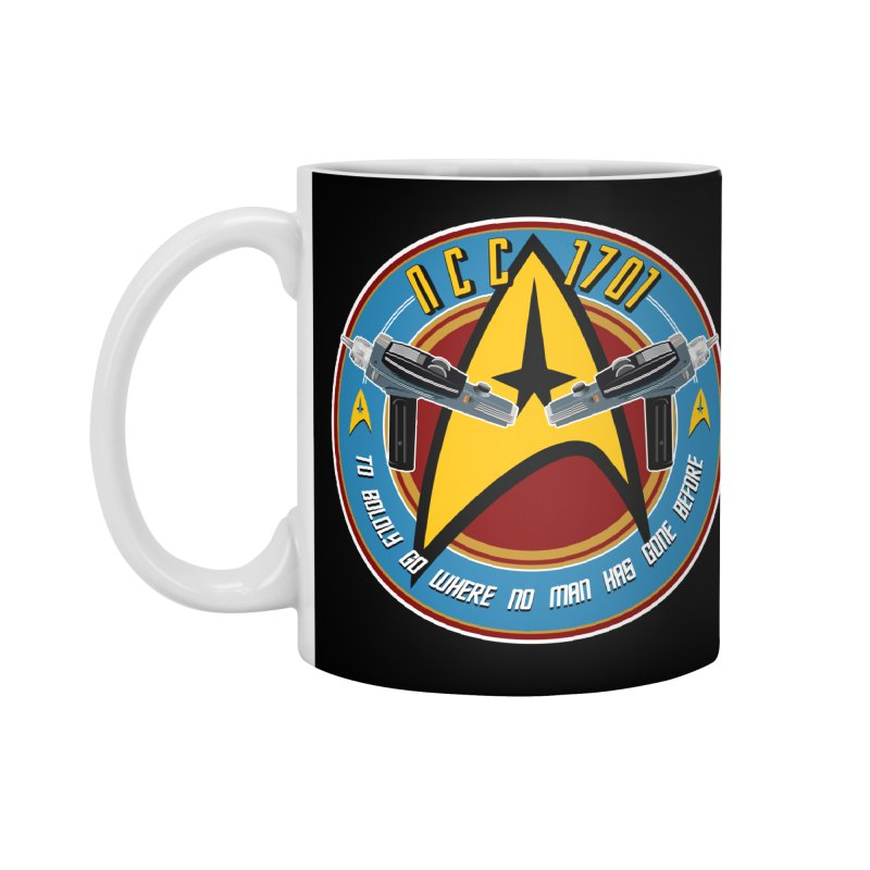 BOLDLY GO... Accessories Standard Mug by karmadesigner's Tee Shirt Shop