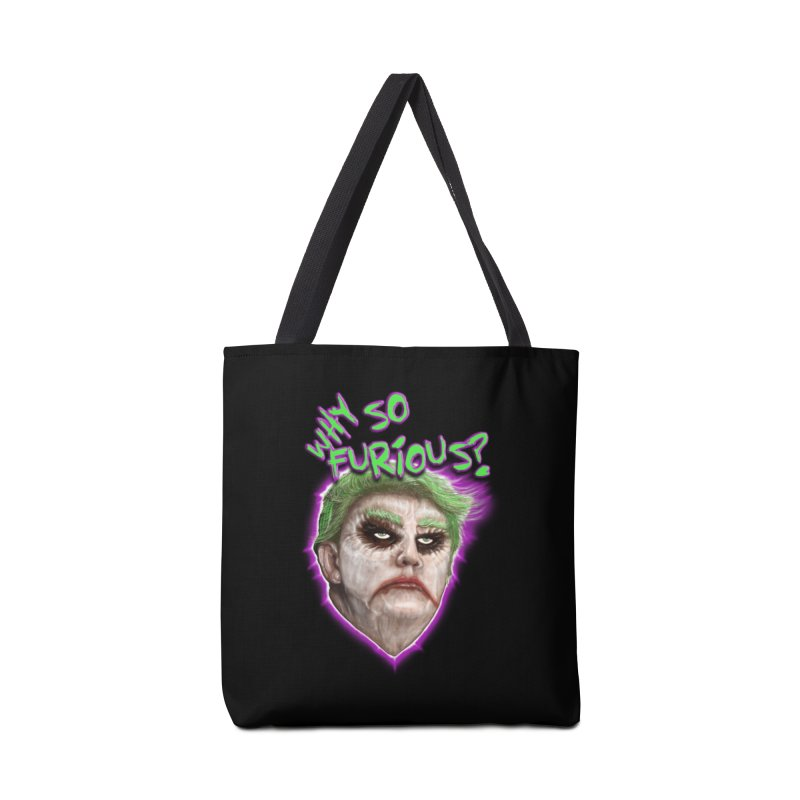 WHY SO FURIOUS  Accessories Bag by karmadesigner's Tee Shirt Shop