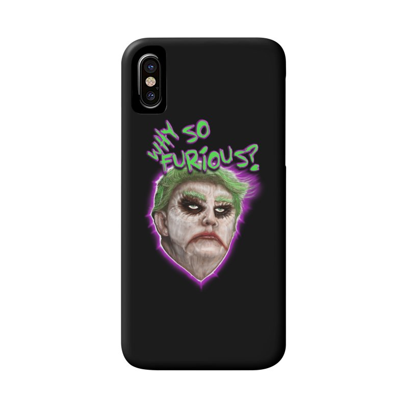 WHY SO FURIOUS  Accessories Phone Case by karmadesigner's Tee Shirt Shop