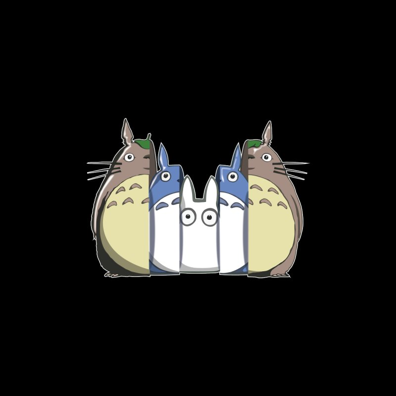 TOTORO MATRIOSKA  by karmadesigner's Tee Shirt Shop