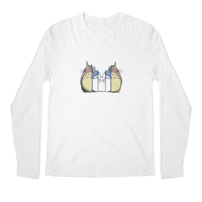 TOTORO MATRIOSKA  Men's Longsleeve T-Shirt by karmadesigner's Tee Shirt Shop