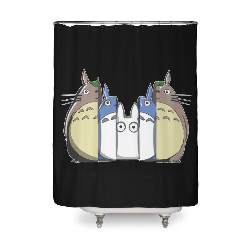 TOTORO MATRIOSKA  Home Shower Curtain by karmadesigner's Tee Shirt Shop