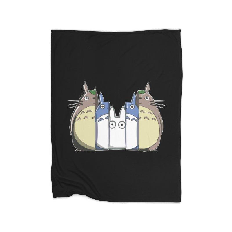 TOTORO MATRIOSKA  Home Blanket by karmadesigner's Tee Shirt Shop