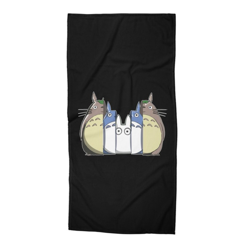 TOTORO MATRIOSKA  Accessories Beach Towel by karmadesigner's Tee Shirt Shop