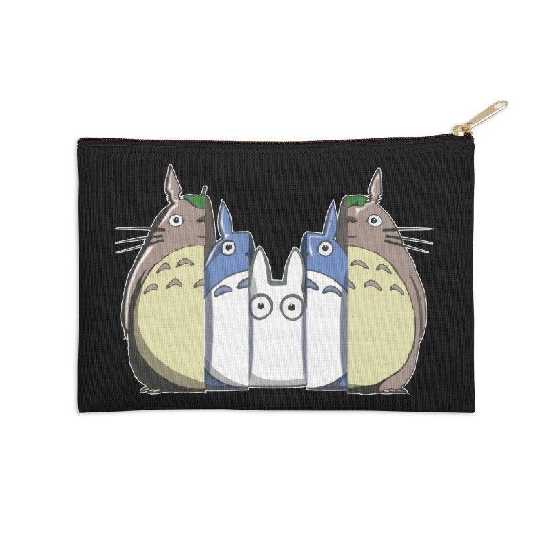TOTORO MATRIOSKA  Accessories Zip Pouch by karmadesigner's Tee Shirt Shop