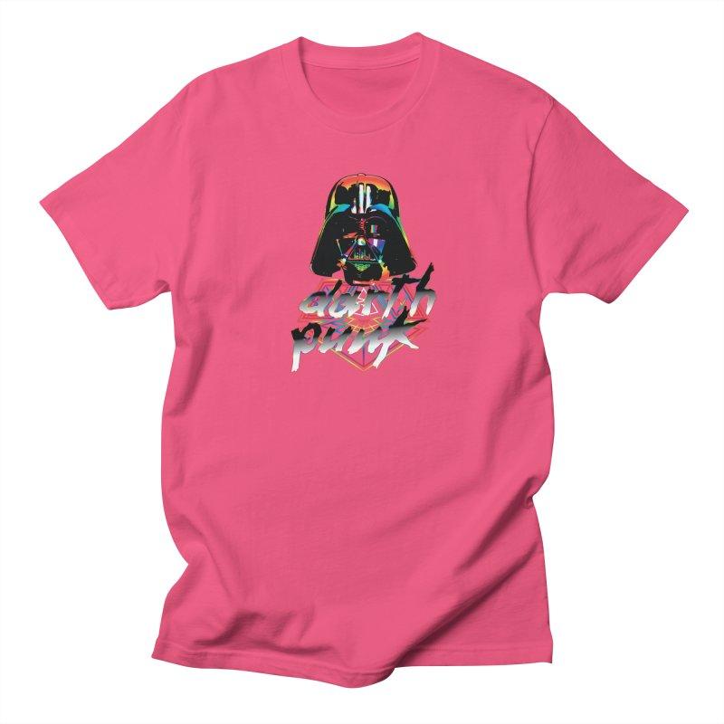 DARTH PUNK  Men's T-shirt by karmadesigner's Tee Shirt Shop
