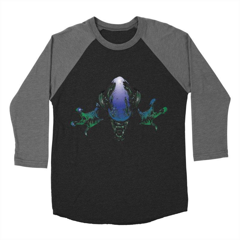 ALIEN  Men's Baseball Triblend T-Shirt by karmadesigner's Tee Shirt Shop