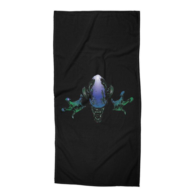 ALIEN  Accessories Beach Towel by karmadesigner's Tee Shirt Shop