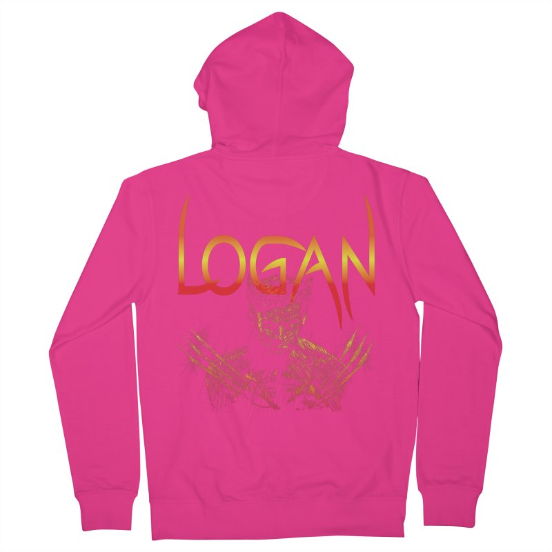 LOGAN Men's Zip-Up Hoody by karmadesigner's Tee Shirt Shop