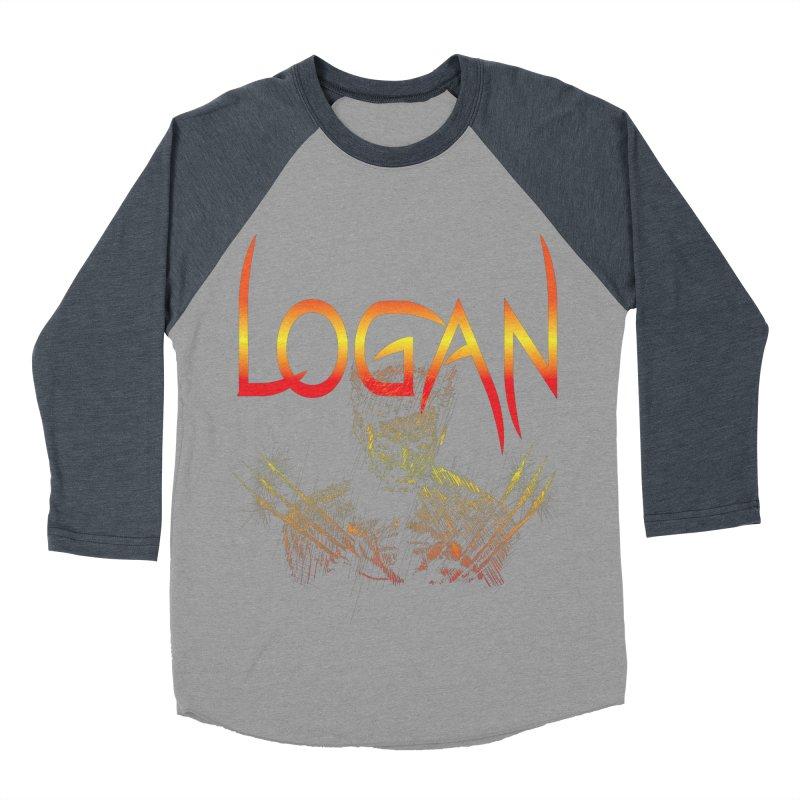 LOGAN Men's Baseball Triblend T-Shirt by karmadesigner's Tee Shirt Shop
