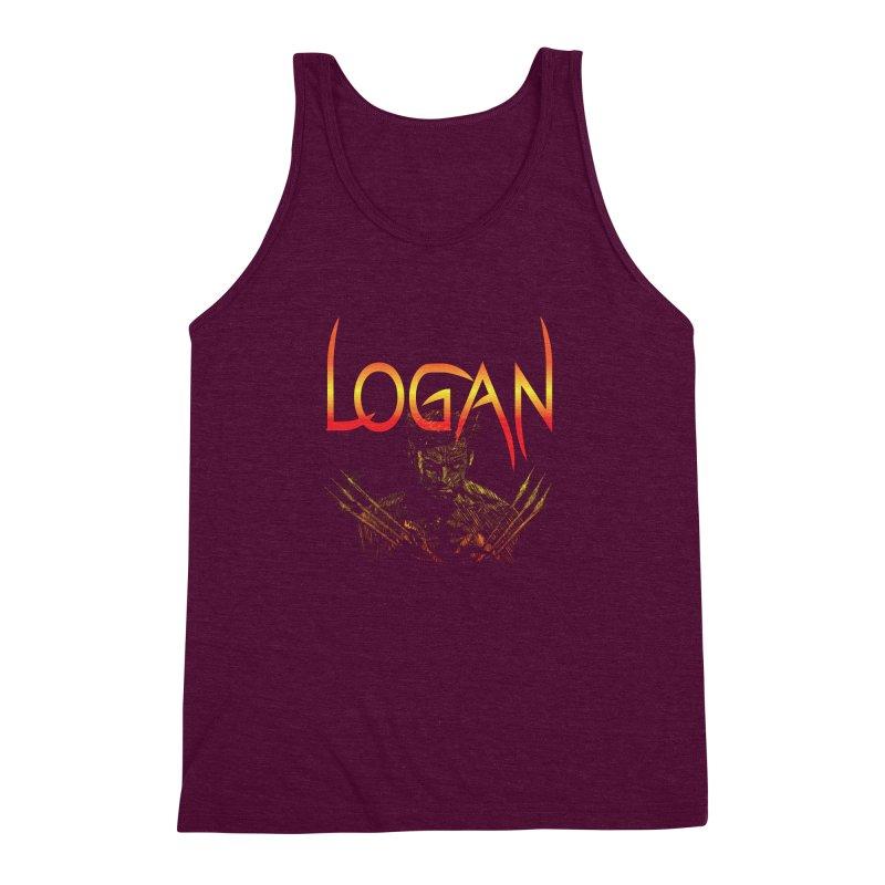 LOGAN Men's Triblend Tank by karmadesigner's Tee Shirt Shop