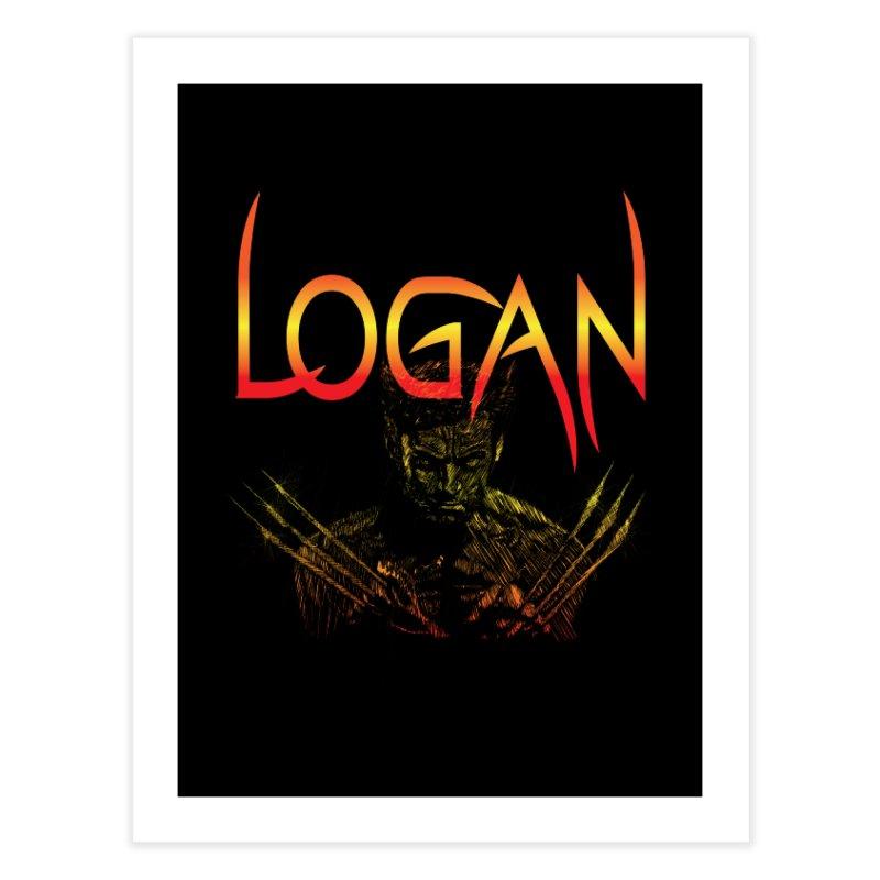 LOGAN Home Fine Art Print by karmadesigner's Tee Shirt Shop