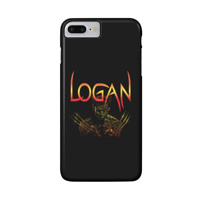 LOGAN Accessories Phone Case by karmadesigner's Tee Shirt Shop