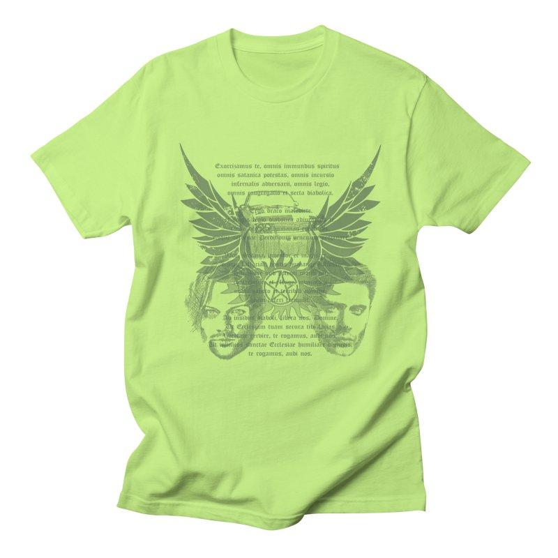 SUPERNATURAL BROTHERS  Men's T-Shirt by karmadesigner's Tee Shirt Shop