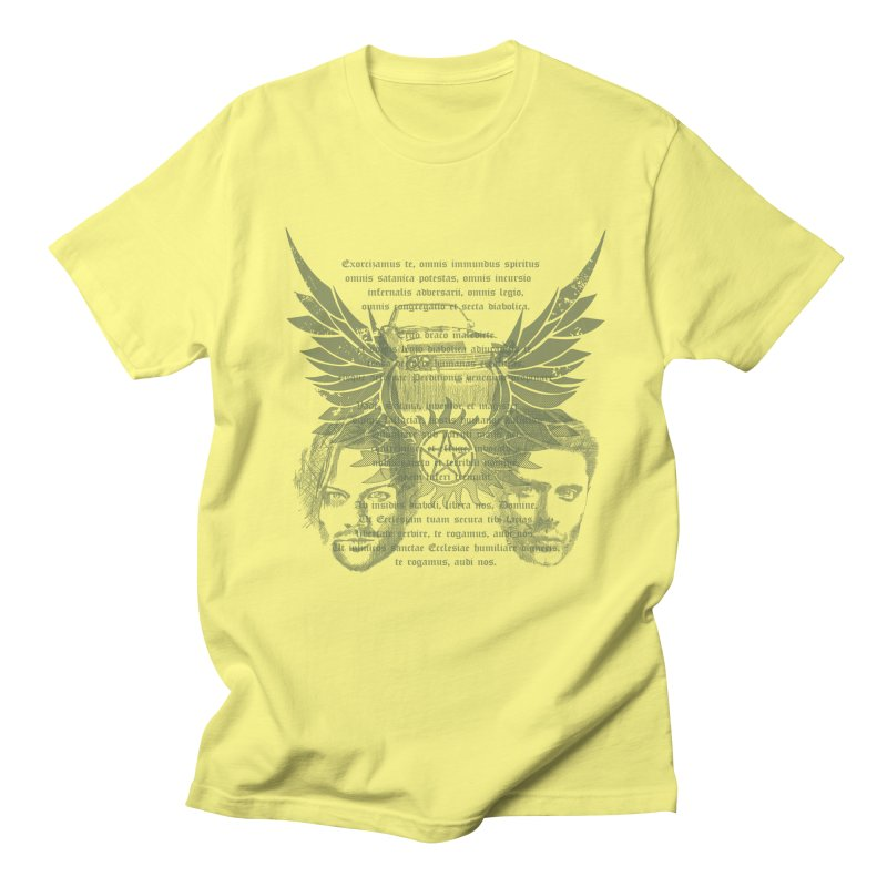 SUPERNATURAL BROTHERS  Men's T-Shirt by karmadesigner's Tee Shirt Shop