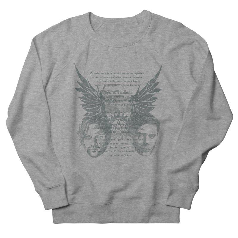 SUPERNATURAL BROTHERS  Women's Sweatshirt by karmadesigner's Tee Shirt Shop