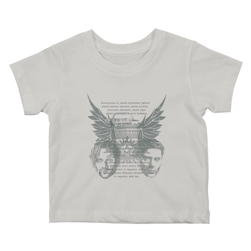 SUPERNATURAL BROTHERS  Kids Baby T-Shirt by karmadesigner's Tee Shirt Shop