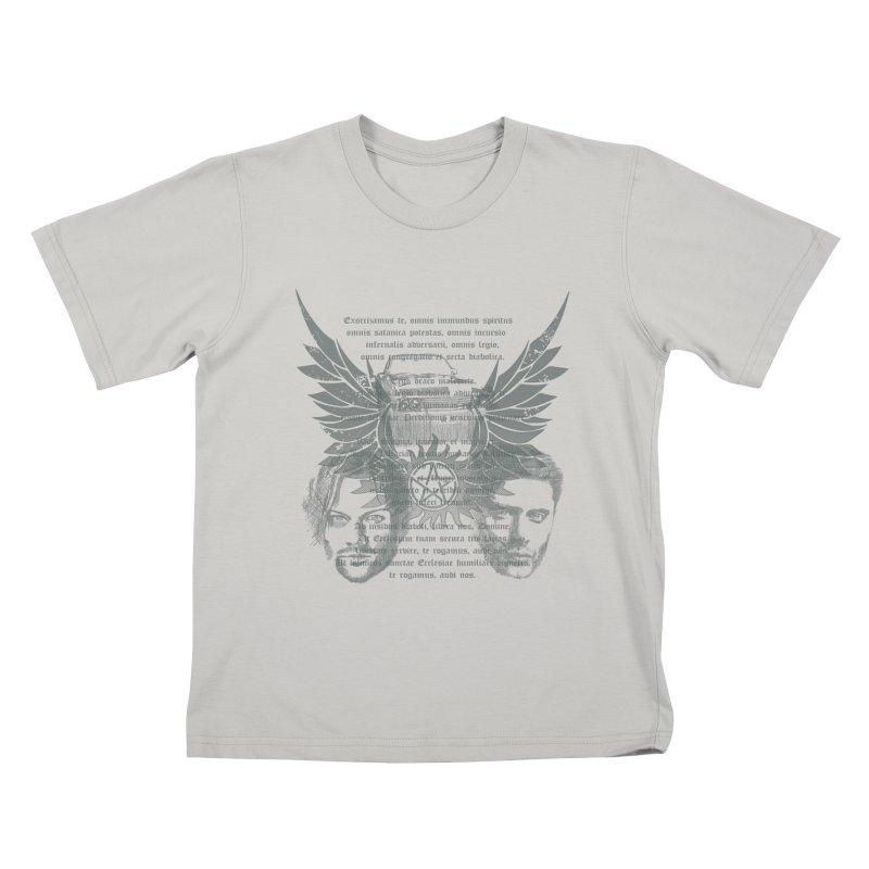 SUPERNATURAL BROTHERS  Kids T-shirt by karmadesigner's Tee Shirt Shop