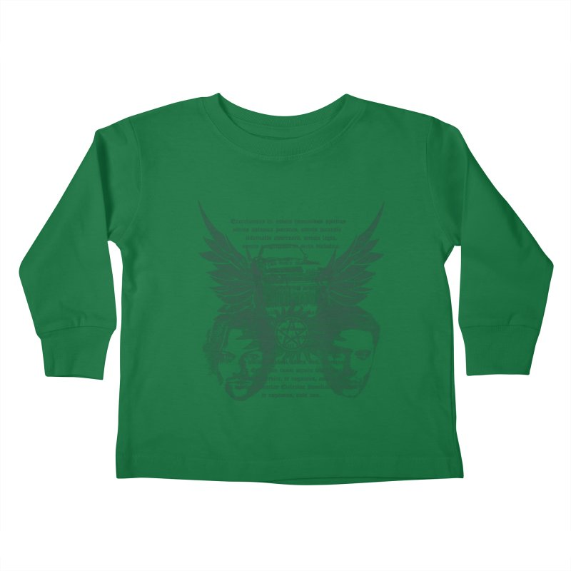 SUPERNATURAL BROTHERS  Kids Toddler Longsleeve T-Shirt by karmadesigner's Tee Shirt Shop