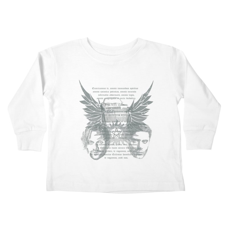 SUPERNATURAL BROTHERS  Kids Toddler Longsleeve T-Shirt by karmadesigner's Tee Shirt Shop