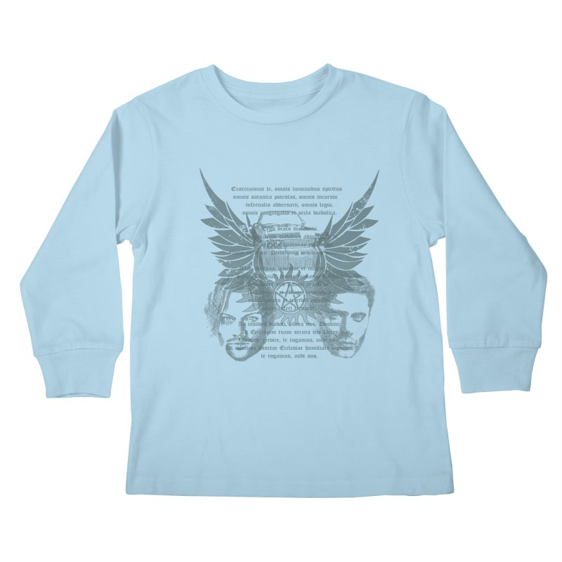 SUPERNATURAL BROTHERS  Kids Longsleeve T-Shirt by karmadesigner's Tee Shirt Shop