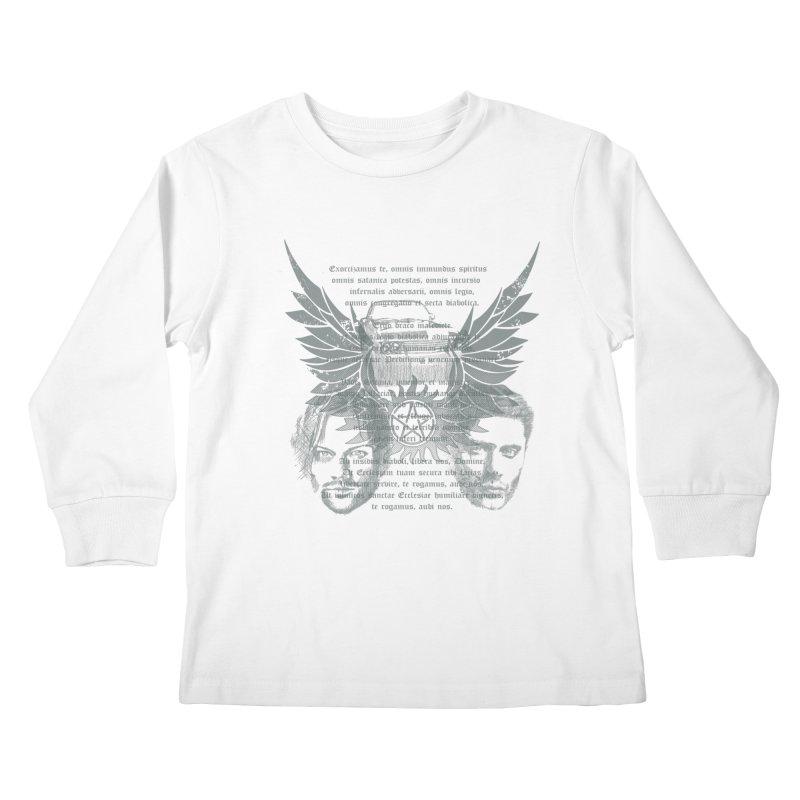 SUPERNATURAL BROTHERS  Kids Longsleeve T-Shirt by karmadesigner's Tee Shirt Shop