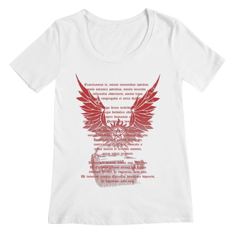 CHEVROLET IMPALA 67 Women's Scoopneck by karmadesigner's Tee Shirt Shop