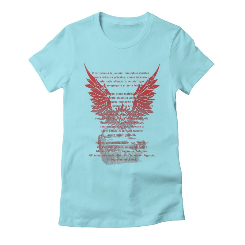 CHEVROLET IMPALA 67 Women's Fitted T-Shirt by karmadesigner's Tee Shirt Shop