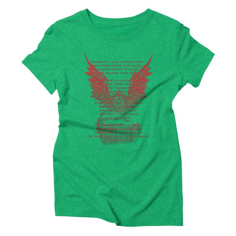 CHEVROLET IMPALA 67 Women's Triblend T-shirt by karmadesigner's Tee Shirt Shop