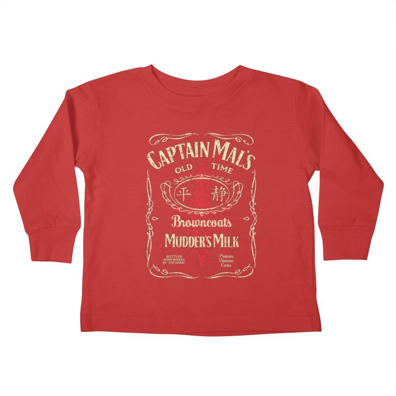 CAPTAIN MAL'S MUDDER'S MILK Kids Toddler Longsleeve T-Shirt by karmadesigner's Tee Shirt Shop