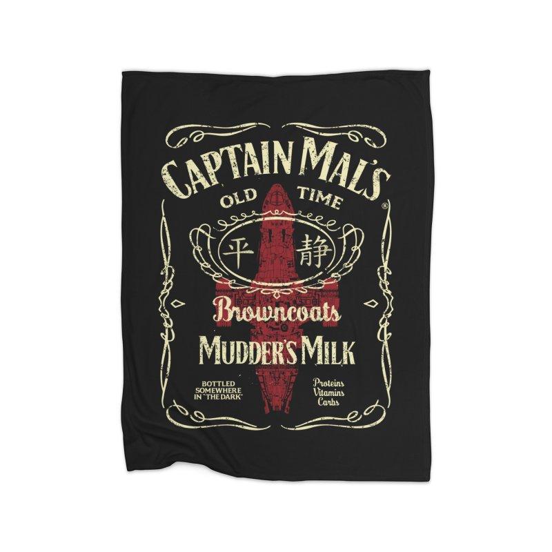 CAPTAIN MAL'S MUDDER'S MILK Home Blanket by karmadesigner's Tee Shirt Shop
