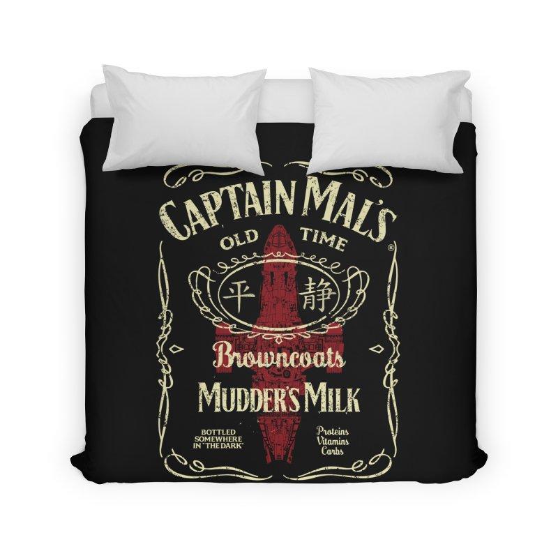 CAPTAIN MAL'S MUDDER'S MILK Home Duvet by karmadesigner's Tee Shirt Shop