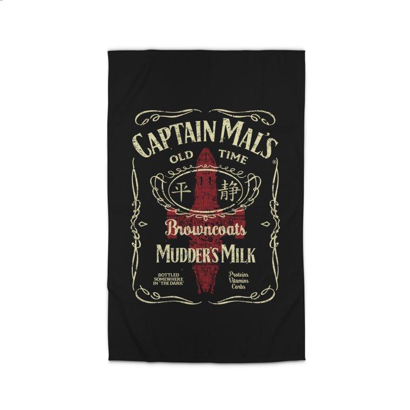 CAPTAIN MAL'S MUDDER'S MILK Home Rug by karmadesigner's Tee Shirt Shop