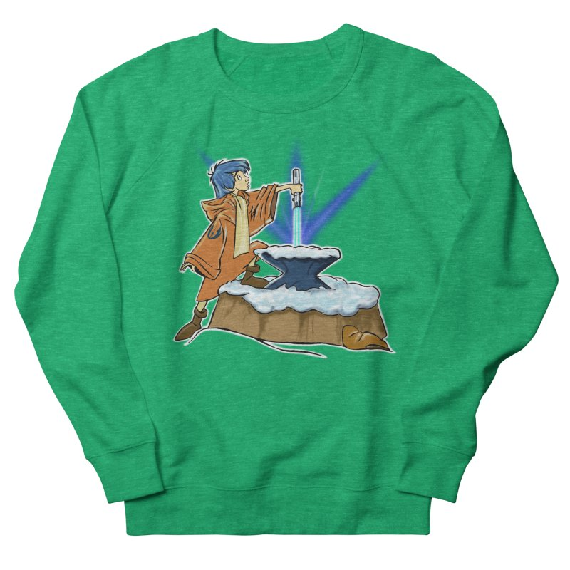THE LIGHTSABER IN THE STONE  Men's Sweatshirt by karmadesigner's Tee Shirt Shop