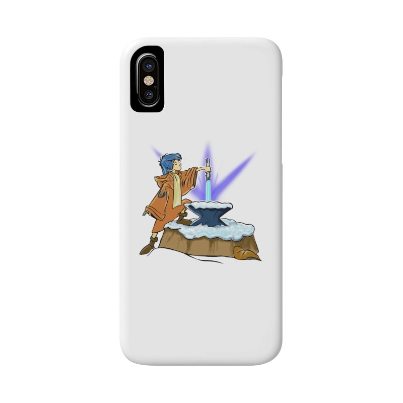 THE LIGHTSABER IN THE STONE  Accessories Phone Case by karmadesigner's Tee Shirt Shop