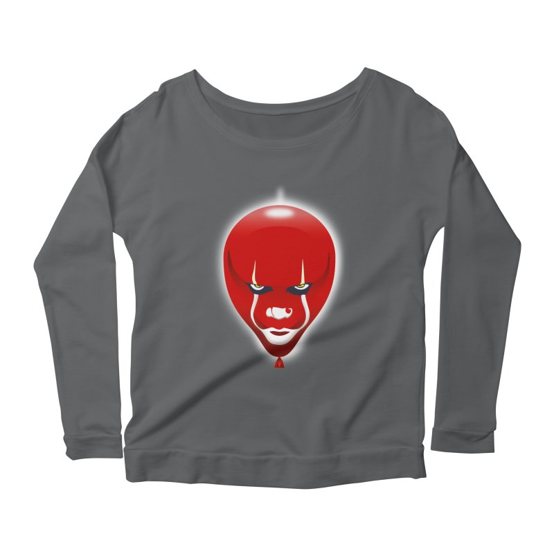 THEY FLOAT.... Women's Longsleeve Scoopneck  by karmadesigner's Tee Shirt Shop