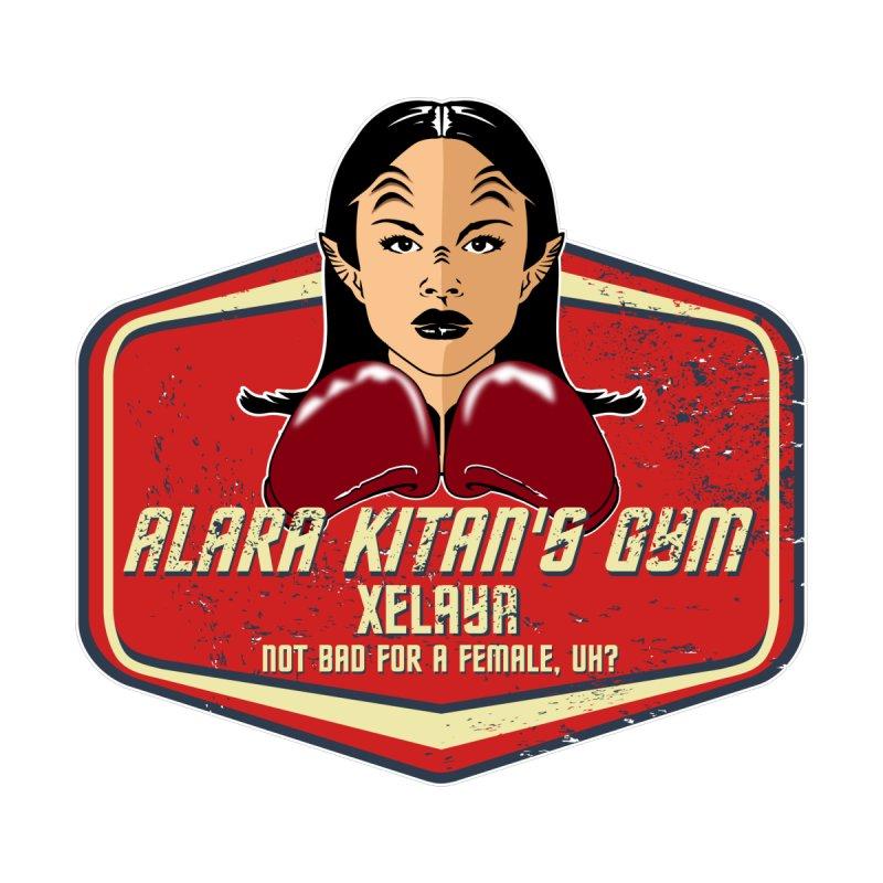 ALARA KITAN'S GYM Women's Zip-Up Hoody by karmadesigner's Tee Shirt Shop