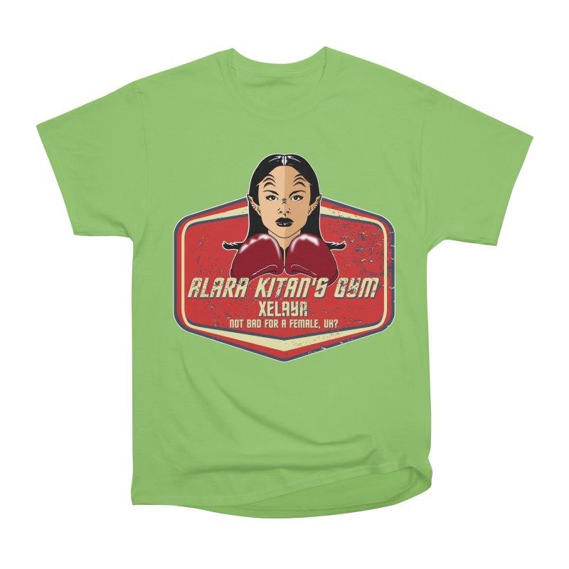 ALARA KITAN'S GYM Women's Heavyweight Unisex T-Shirt by karmadesigner's Tee Shirt Shop