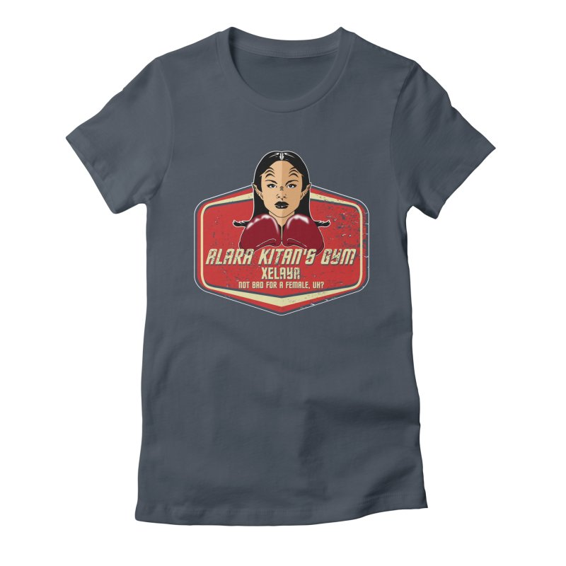 ALARA KITAN'S GYM Women's T-Shirt by karmadesigner's Tee Shirt Shop