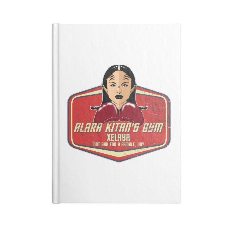 ALARA KITAN'S GYM Accessories Notebook by karmadesigner's Tee Shirt Shop