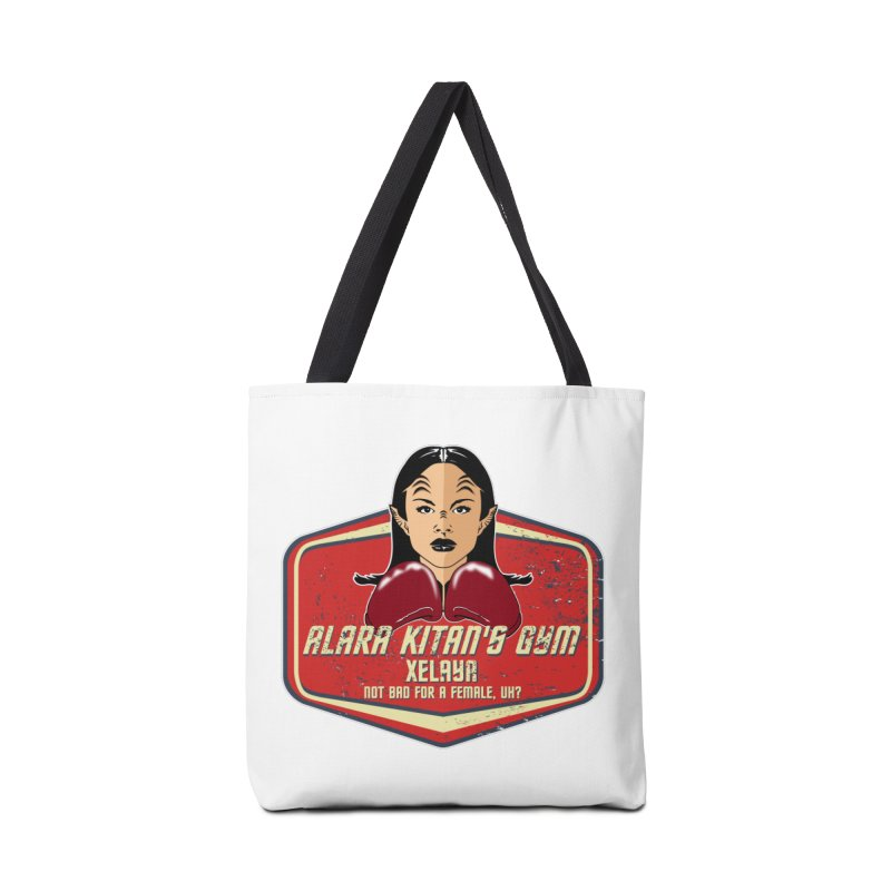 ALARA KITAN'S GYM Accessories Bag by karmadesigner's Tee Shirt Shop