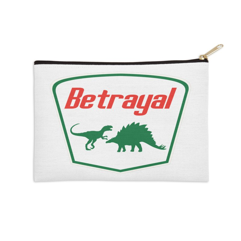BETRAYAL Accessories Zip Pouch by karmadesigner's Tee Shirt Shop