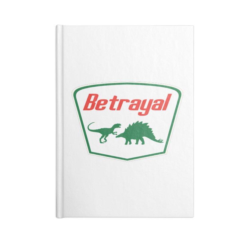BETRAYAL Accessories Notebook by karmadesigner's Tee Shirt Shop